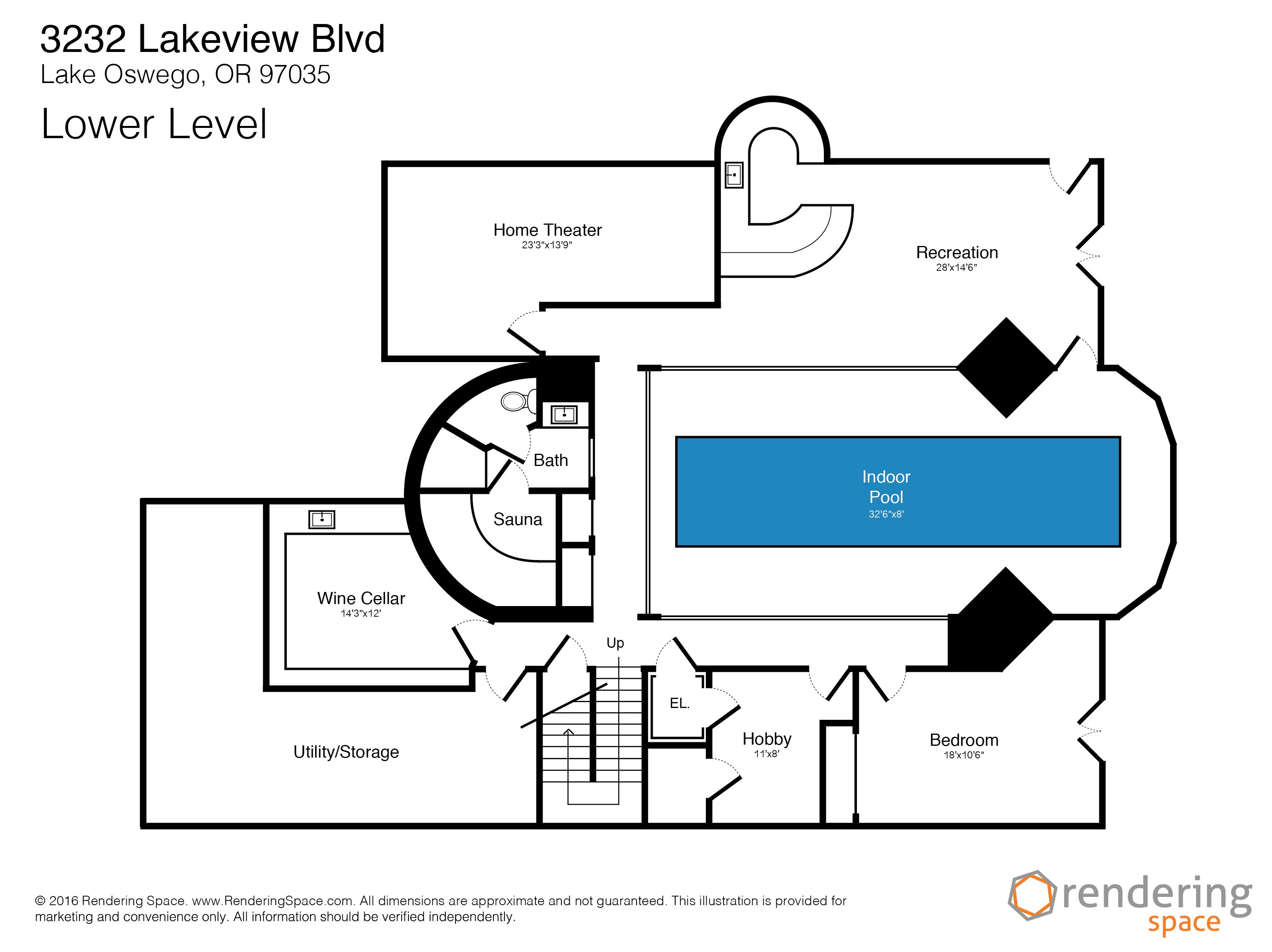 Rendering Space Floor Plans